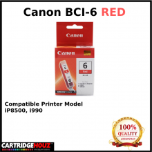 Canon BCI-6 (Red) (14 ml) ink For i990, iP8500