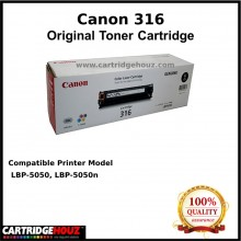 (Optional Color ) [ GENUINE ] Canon Cart 316 Toner For LBP-5050 / LBP-5050n Printer