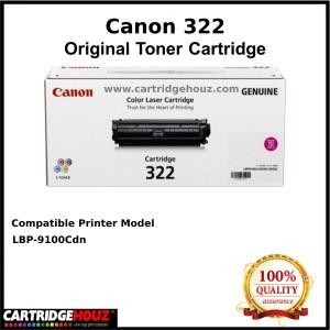 (Optional Color ) [ GENUINE ] Canon Cart 322 (6.5K pgs) Toner For LBP-9100Cdn Printer