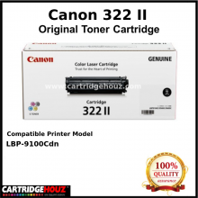 (Optional Color ) [ GENUINE ] Canon Cart 322 II (13K pgs) Toner For LBP-9100Cdn Printer