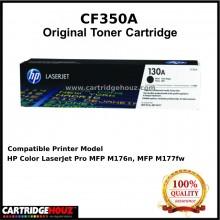 [OPTIONAL COLOR] [GENUINE] HP CF350A (130A) (Black) / HP CF351A (130A) (Cyan) / HP CF352A (130A) (Yellow) / HP CF353A (130A) (Magenta) ORIGINAL Toner For HP Laser Jet Pro M153n/ M176n/ M177w Printer