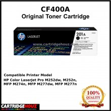 [OPTIONAL] [GENUINE] HP CF400A (Black) / CF401A (Cyan) / CF402A (Yellow) / CF403A (Magenta) (201A) (1.5K pgs) ORIGINAL Toner For HP Colour LaserJet Pro M252 / MFP M277 / MFP M274n Printer