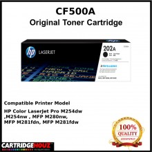 (Optional Color ) [ GENUINE ] HP CF500A / CF501A / CF502A / CF503A (202A) Toner  For HP Colour LaserJet Pro M254 / M254dw / M254nw / MFP M284 / MFP M284fdn / MFP M281 / MFP M281fdw / MFP M281fdn / MFP M280 / MFP M280nw Printer