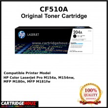 [GENUINE] ORIGINAL HP CF510A (204A) (Black) (1.1K pgs) Toner suitable for HP Colour LaserJet Pro M154a / M154nw / MFP M180nw / M180n / M181fw Printer