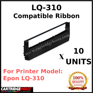 10 units Compatible Epson LQ-310 ribbon FOR LQ-310 DOT-MATRIX