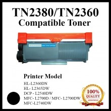 Compatible Brother TN-2380 / TN2380 / TN-2360 Toner use for HL-L2360DN, DCP-L2540DW, MFC-L2700D Printer