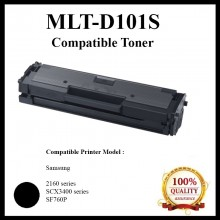 Compatible MLT-D101S (1.5K) Toner For Samsung ML-2160/ SCX3400 / SF760P Printer