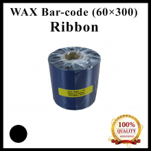 Wax Barcode Ribbon (G4) ( 60mm x 300m ) for Thermal Transfer Printer Label Tag Print