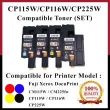 [SET] Compatible Fuji Xerox CP115 / 115 / CP116 / 116 / CP225 / 225 Toner For DocuPrint CP115w, CP116w, CP225w, CM115b, CM225fw Printer
