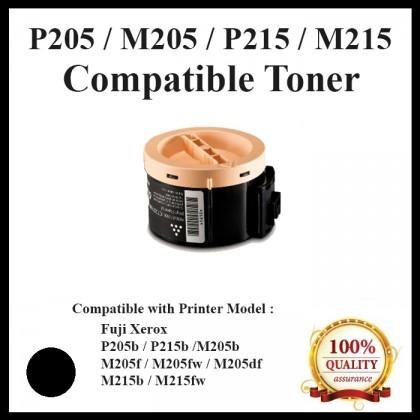 (CT201610) Compatible Fuji Xerox P205/M205/P215/M215/P105(2.2K) Toner use for Fuji Xerox DocuPrint  P205b / M205b / M205fw / P215b / M215b / M215fw Printer