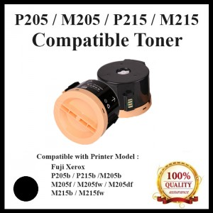 (CT201610) Compatible Fuji Xerox P205/M205/P215/M215/P105(2.2K) Toner use for Fuji Xerox DocuPrint  P205b / M205b / M205fw / P215b / M215b / M215fw Printer