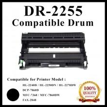 Compatible Drum DR-2255 / DR2255  For Brother HL-2130 / DCP-7055 / HL-2240D / HL-2250DN / HL-2270DW / DCP-7060D / MFC-7360 / MFC-7860DW / FAX-2840 Printer Drum
