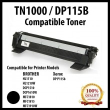 Compatible Brother TN-1000 / TN1000 / XEROX DP P115b Toner Cartridge