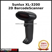 Sunlux XL-3200 2D Barcode Scanner With Stand