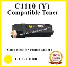 [ Optional Color ] Compatible  Fuji Xerox Docuprint C1110 / C1110B (Yellow) (2K pgs) (CT201120) Toner For use in Xerox DocuPrint C1110 / C1110B Color Laser Printer