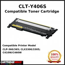 Compatible Samsung CLT-Y406S (1K PGS) for CLP-360/365; CLX3300/3305; C410W/C460W