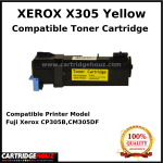 Compatible Xerox X305 (Yellow) (CT201635) (3K PGS) for Fuji Xerox CP305B,CM305DF