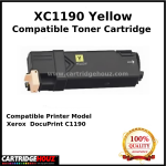 Compatible Xerox C1190 (CT201263) (Yellow) (3K PGS) for Xerox DocuPrint C1190