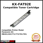 Compatible Panasonic KX-FAT92E (2K PGS) for Panasonic KX-MB261/263/771/773/781/783;
