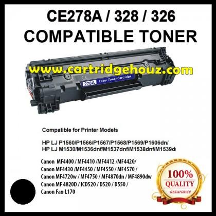 Compatible HP CE278A (78A) / Canon CART 328 / Canon CART 326 Toner Cartridge