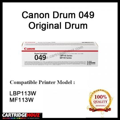 Canon Drum 049 Original Laser Toner - (Drum) For Printer MF113w LBP113w