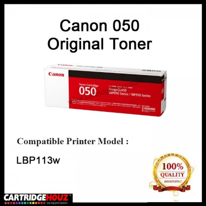Canon CART 050 Laser Cartridge Toner Cartridge 2,500 Pages Yield For LBP113w Printer