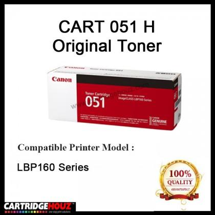 Original Canon Cart 051H Toner 4,100 Pages For LBP160Series