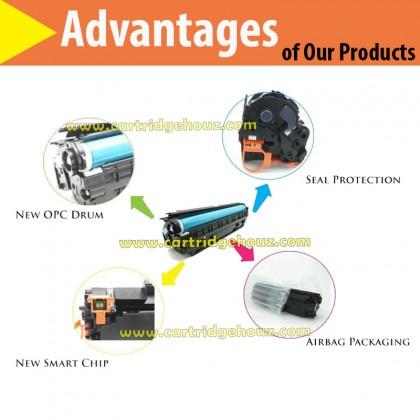 Compatible HP CF283A (83A) / 83A / 283A Toner For HP Laser Jet Pro MFP M125 / M127 / M127fn /  MFP M225dw / M225dn Printer