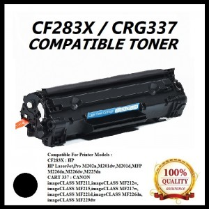 Compatible HP CF283X (83X) / CART 337 Toner Cartridge